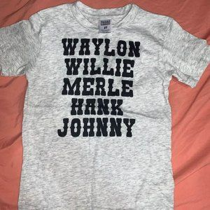 Brand new: Size 2T country music toddler tee